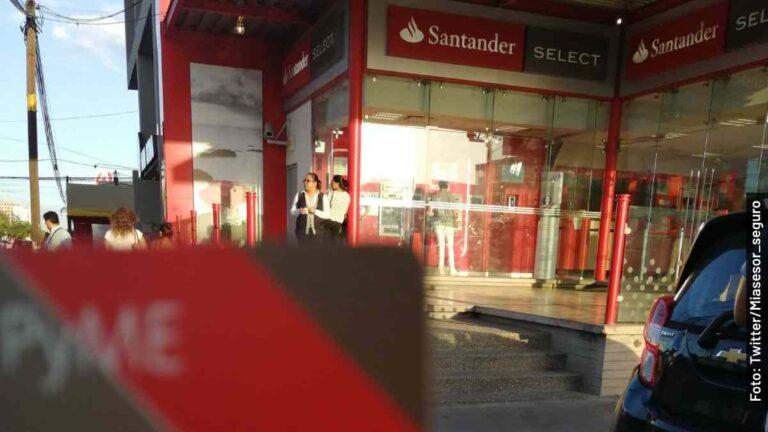 Cuánto puedo retirar por día de un cajero Santander