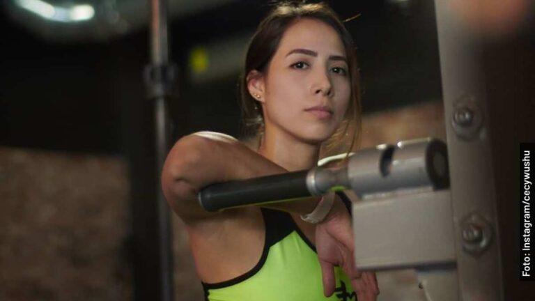 Ella es Ceci Wushu o Cecilia Álvarez de Exatlón México Titanes vs Héroes