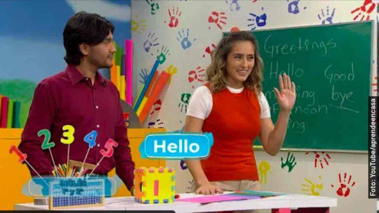 Clases de inglés de primero de primaria, Aprende en Casa 2