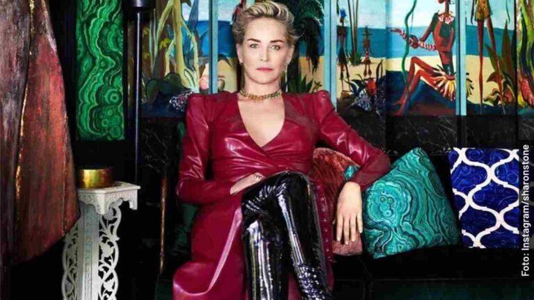 Ella es Sharon Stone, Lenore Osgood en Ratched, serie de Netflix