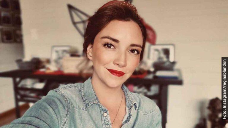 Ella es Regina Blandón, la niña más coqueta en Me Caigo de Risa