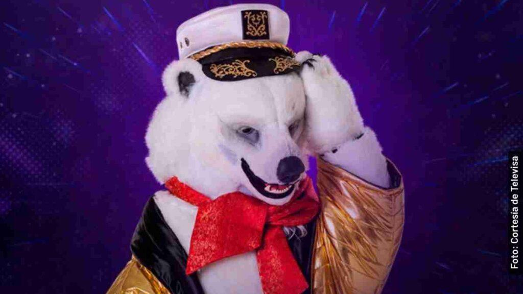 oso polar la máscara