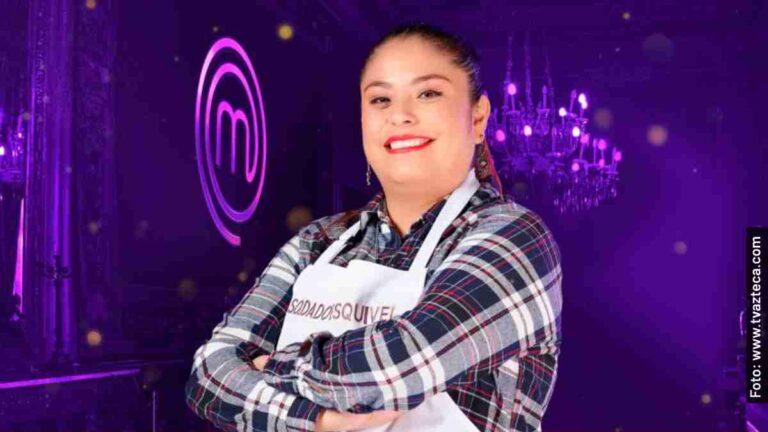 Ella es Diana, la Soldado Esquivel en MasterChef México