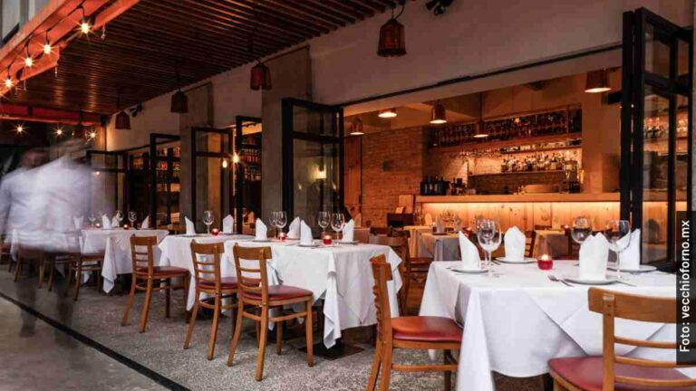 Así es Vecchio Forno, el restaurante donde Gatell tuvo su cita romántica