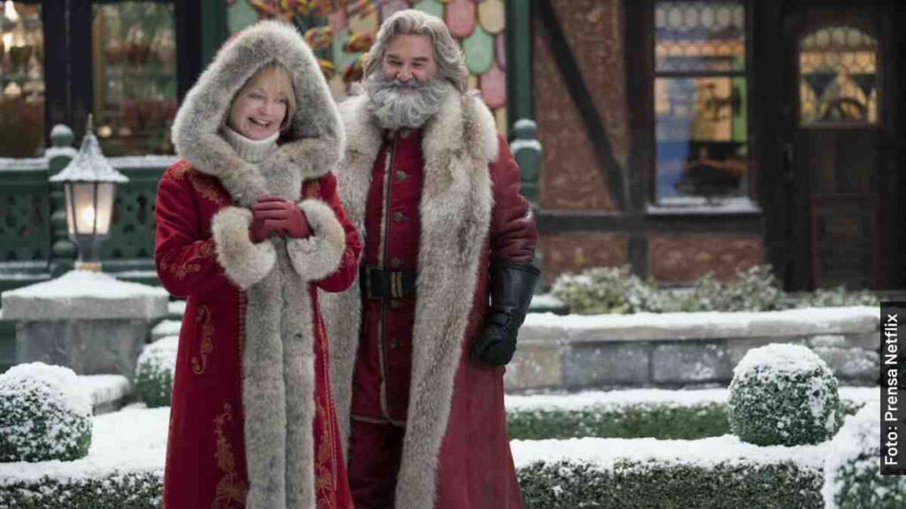 personajes las crónicas de navidad 2 película