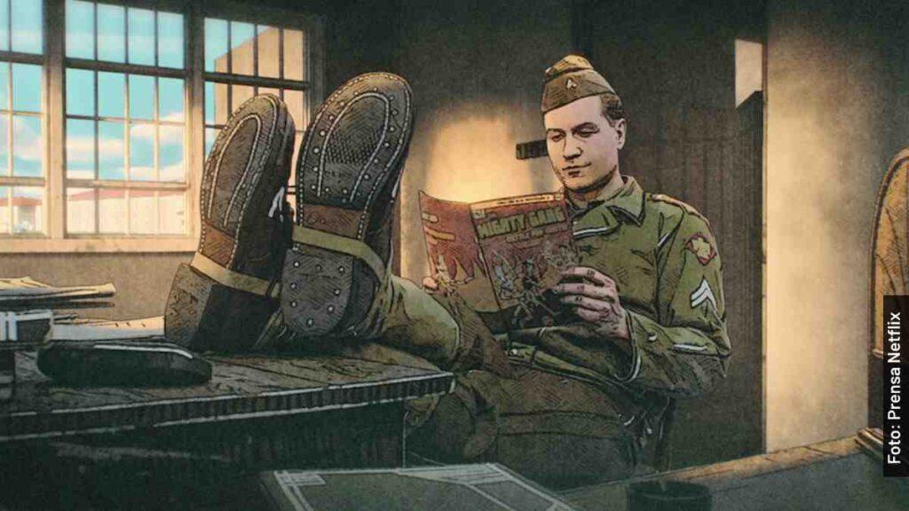personajes the liberator la serie