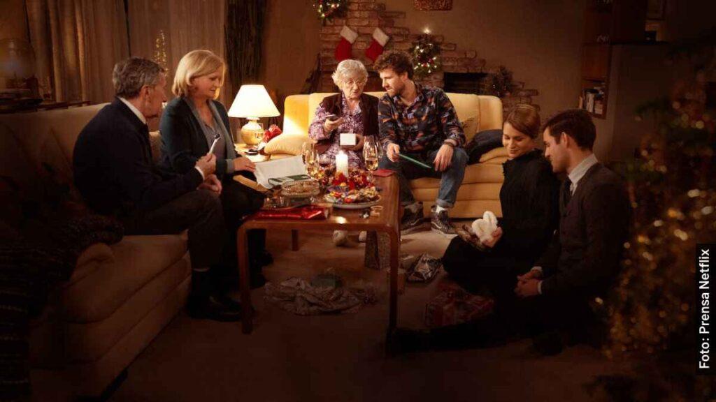 personajes visita de navidad serie