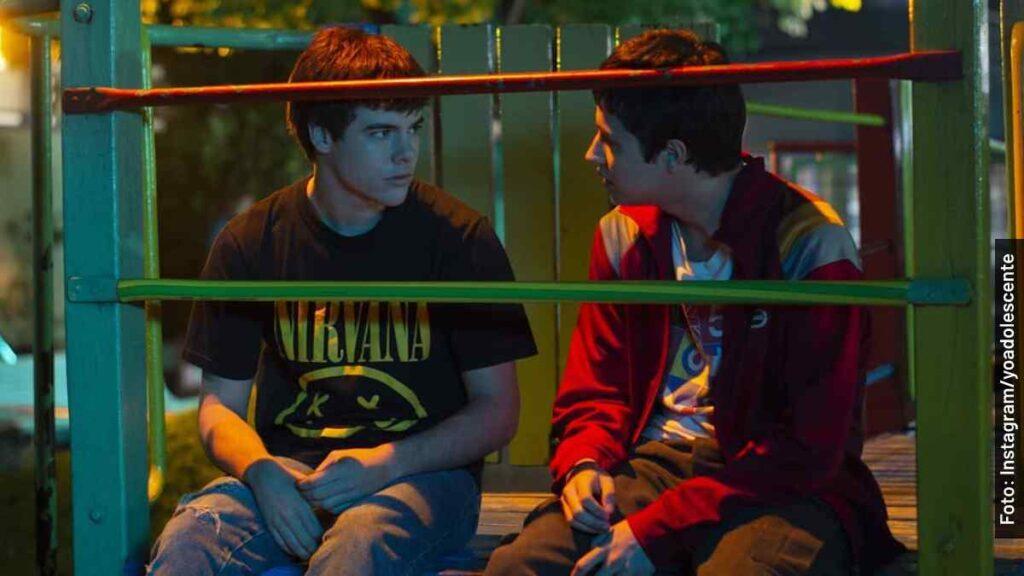 personajes yo adolescente película