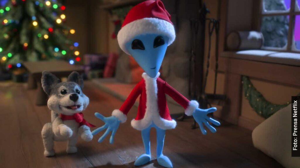 voces navidad xtraterrestre película