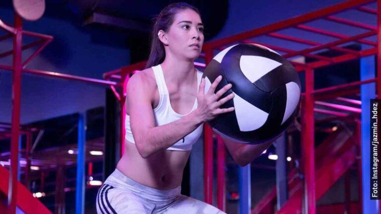 Ella es Jazmín Hernández de Exatlón México Titanes vs Héroes