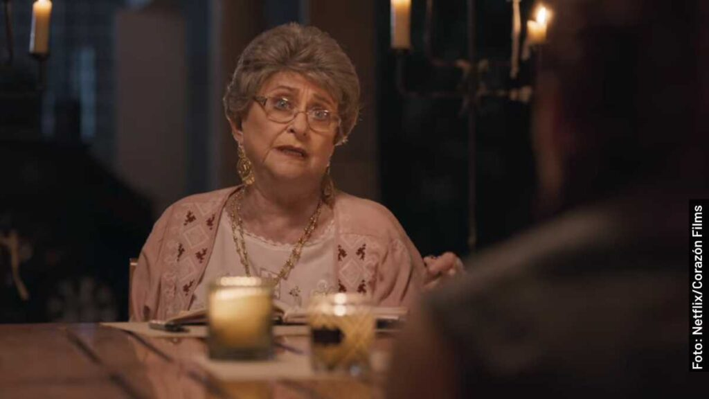 personajes el testamento de la abuela película