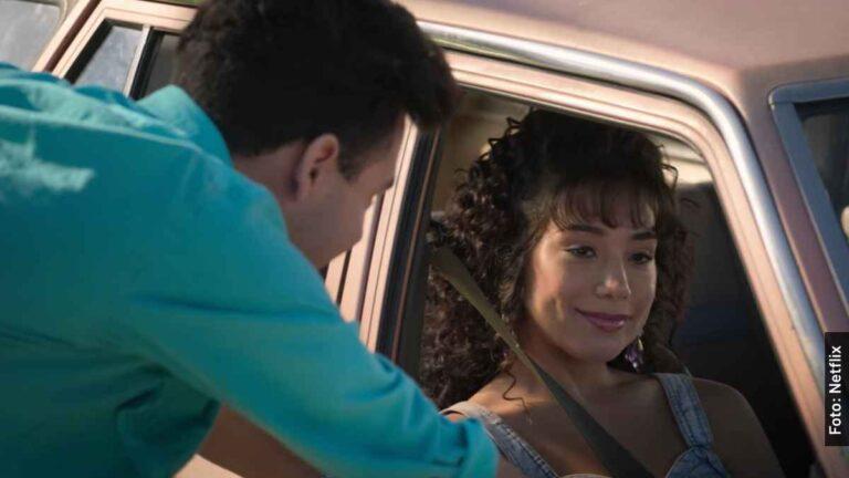 Ella es Vangie, esposa de A.B. Quintanilla en Selena, serie de Netflix