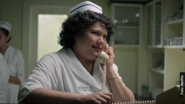 Ella es Yolanda Saldívar en Selena, serie de Netflix, y en la vida real
