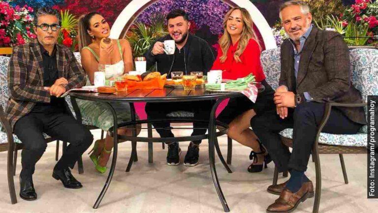 Quiénes son los conductores en Hoy, programa de Televisa
