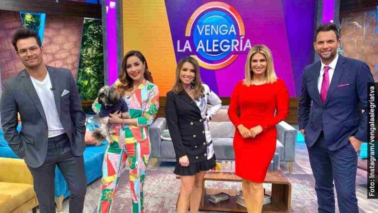 Quiénes son los conductores en Venga la Alegría, programa de TV Azteca