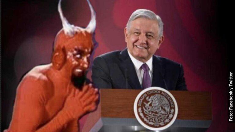 Quién es el diablito que aconseja a AMLO en los memes