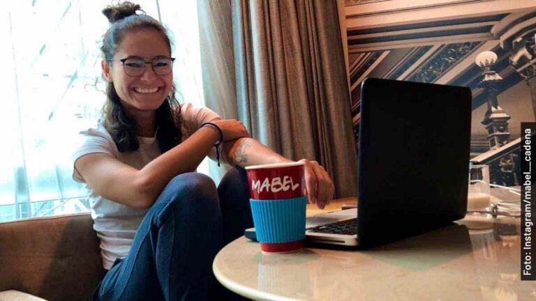 Ella es Mabel Cadena, Itzel en Monarca, serie mexicana de Netflix