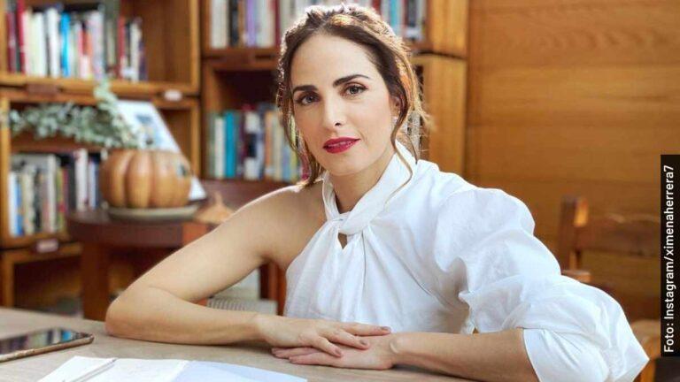 Ella es Ximena Herrera, Marcela en Buscando a Frida, serie de Telemundo