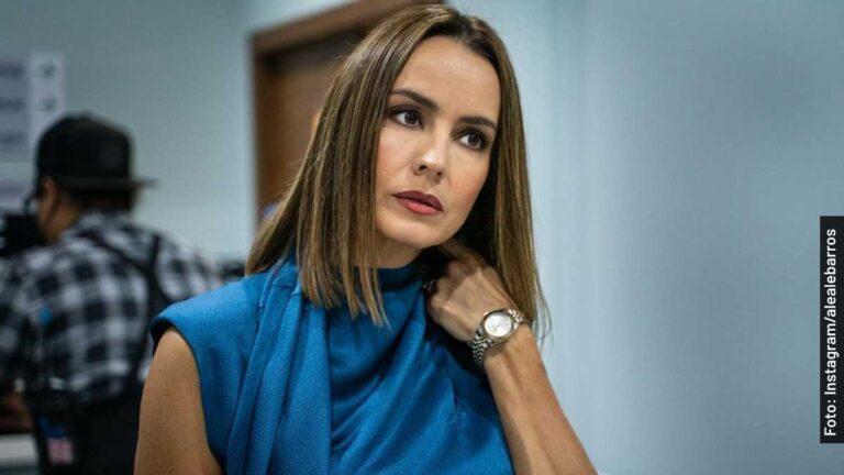 Ella es Alejandra Barros, Rafaela Pons en Buscando a Frida, serie de Telemundo