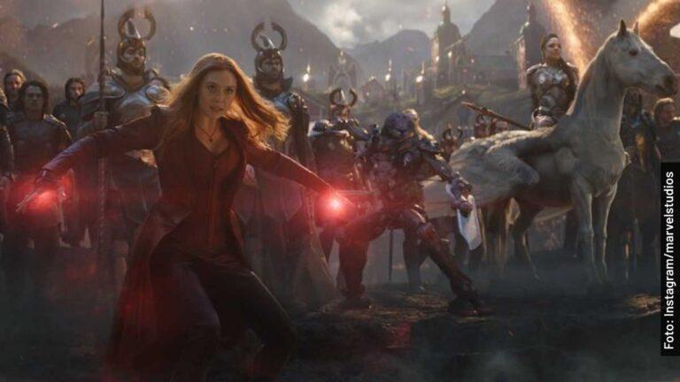 En qué películas de Avengers sale Wanda Maximoff del Universo de Marvel