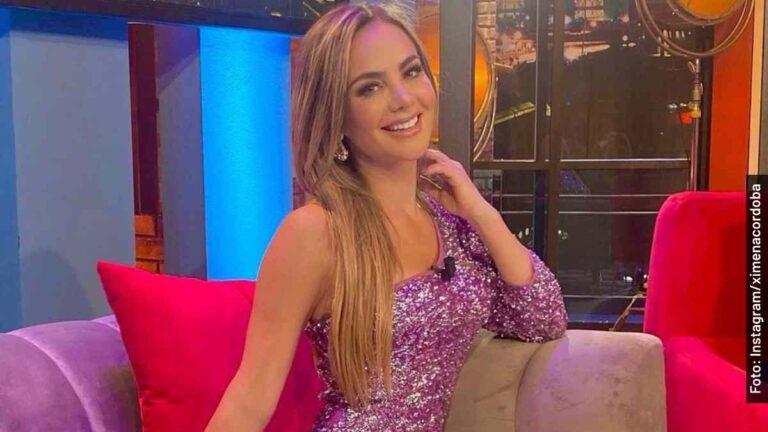 Ella es Ximena Córdoba, conductora de Cuéntamelo Ya y Más Noche