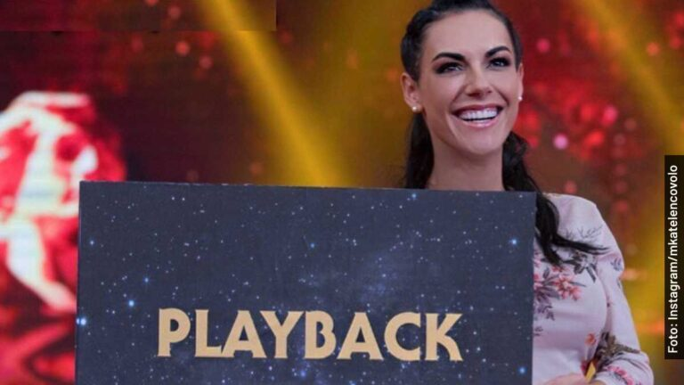 Ella es Katelen Covolo, host en Me Caigo de Risa, programa de Televisa
