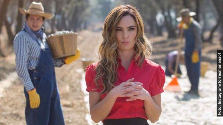 Ella es Mariana Torres, Alexa en Fuego Ardiente, telenovela de Televisa