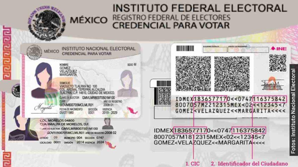 credencial ine vigente elecciones 2021