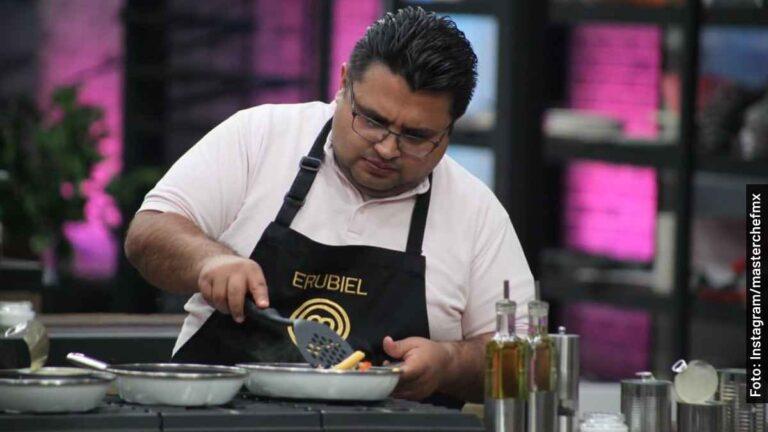 Revelan spoilers que Erubiel es finalista de MasterChef México 2020-2021