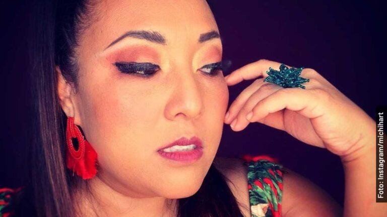 Ella es Michelle Rodríguez, la rellenita de amor en Me Caigo de Risa