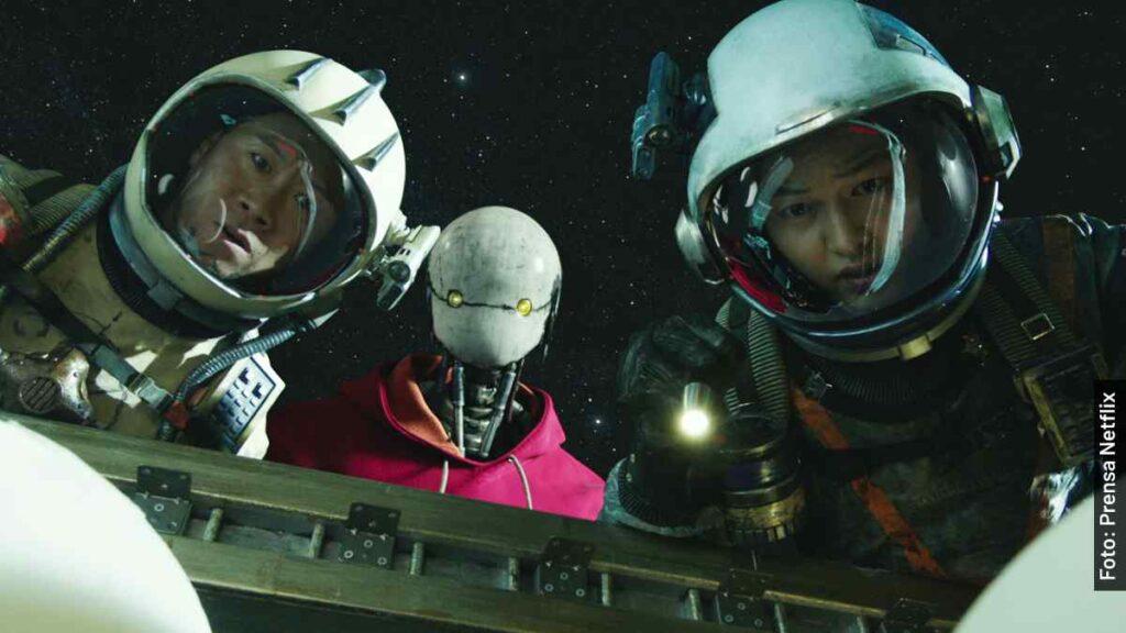 personajes barrenderos espaciales película