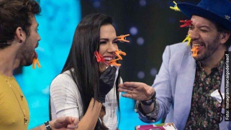 Katelen Covolo sufre con pincitas en Me Caigo de Risa