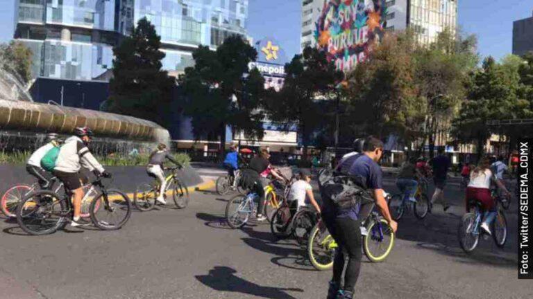 Calendario de paseos en bici 2021 en la CDMX