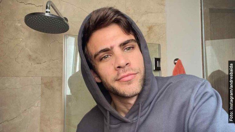 Quién es Andrés Baida, Rodolfo joven en Quién Mató a Sara, serie de Netflix