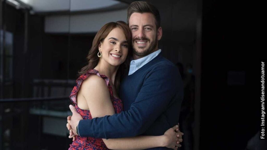 actores diseñando tu amor telenovela