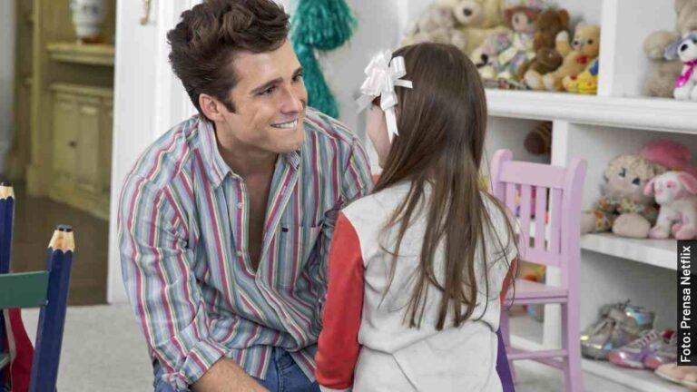 Cómo conoció Luis Miguel a su hija Michelle Salas de niña en la vida real