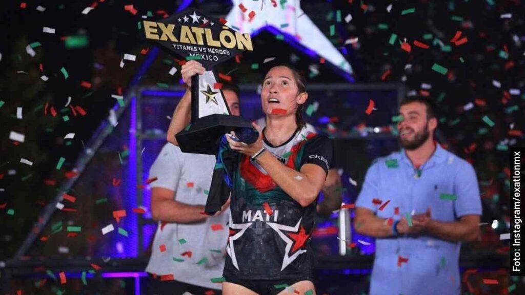 mati álvarez es quien ganó final femenil exatlón méxico 2021