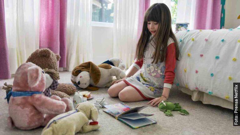 Ella es Valery Sais, Michelle Salas de niña en Luis Miguel, serie de Netflix