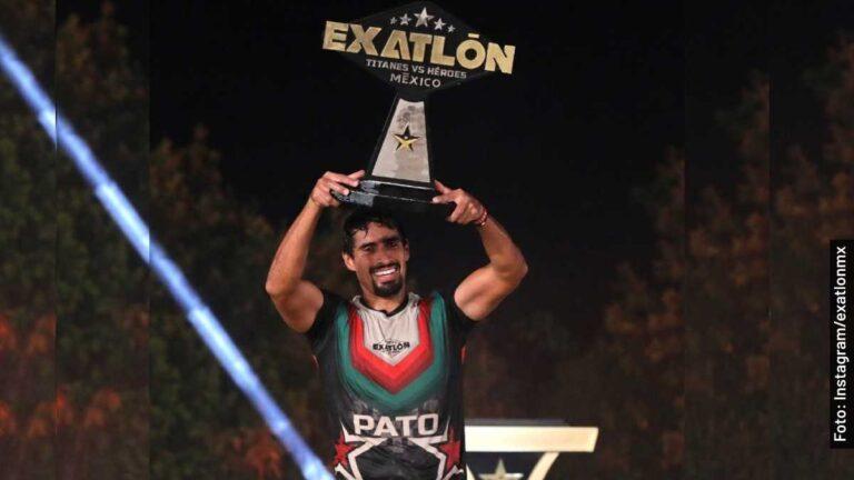 Pato Araujo es quien ganó la final varonil de Exatlón México 2020-2021