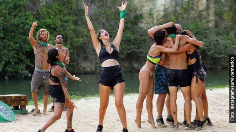 Quiénes son de la Tribu Halcón o equipo verde en Survivor México