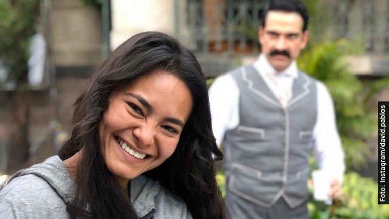 Ella es Mabel Cadena, Amada Díaz en El Baile de los 41, película en Netflix