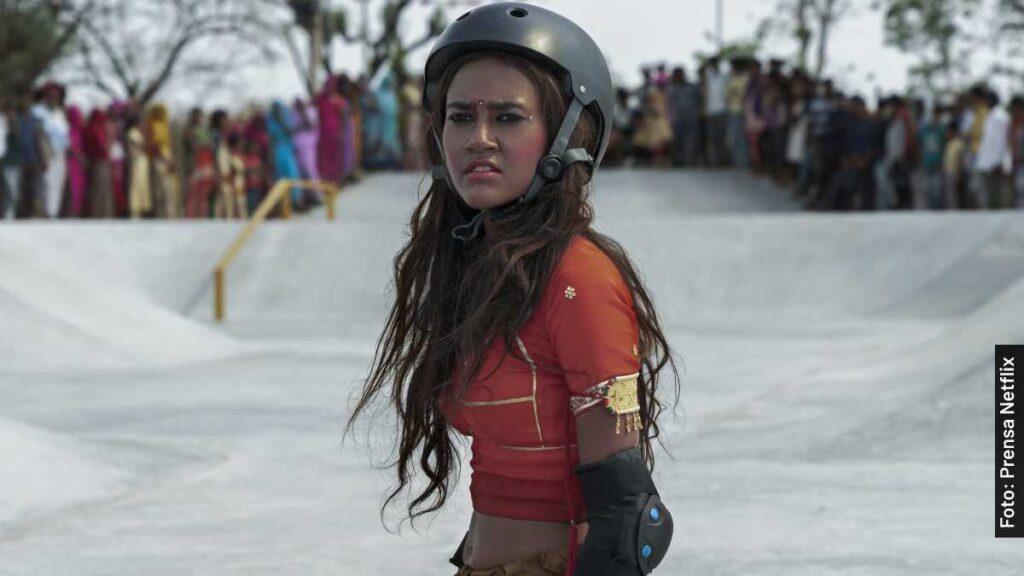actores chica skater película