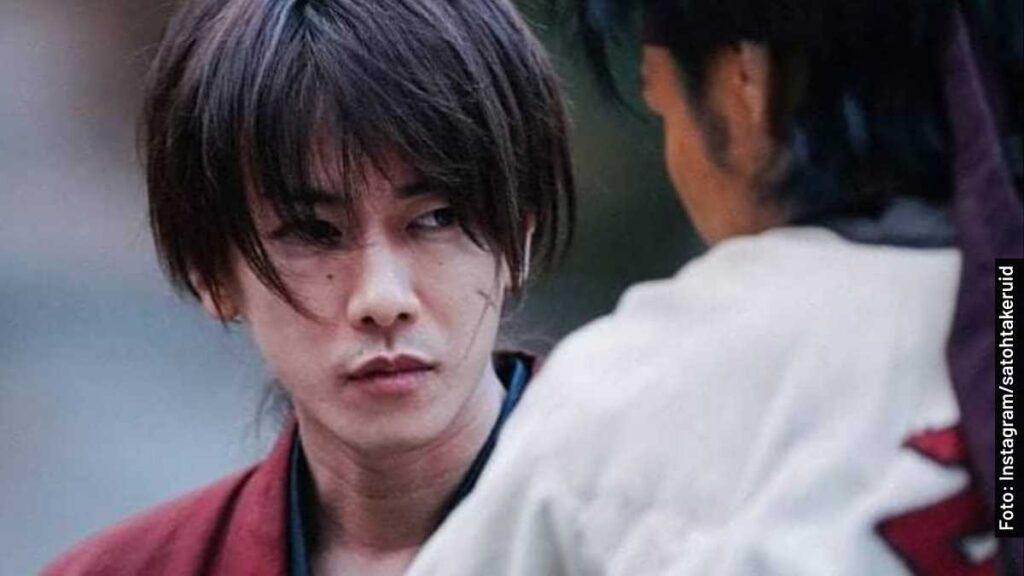 actores samurái x el origen película