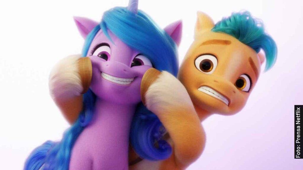 voces my little pony nueva generación película