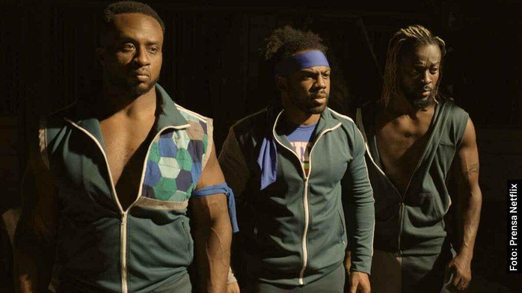 actores escapa del undertaker película