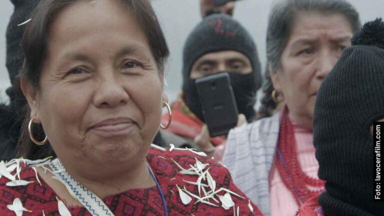 Quién es quién en La Vocera, película documental en Netflix